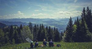 和家人相攜相伴克服的高山峻嶺